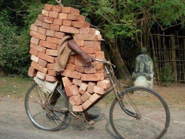 brick bike
